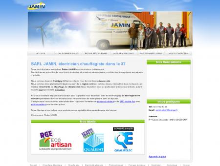 SARL JAMIN, électricien chauffagiste dans le 37