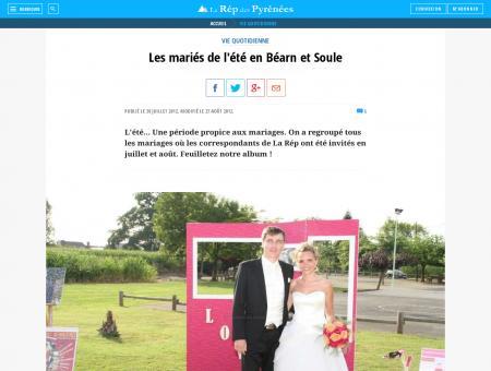 Les mariés de l'été en Béarn et Soule ...