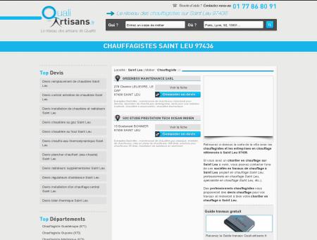 Chauffagiste Saint Leu 97436