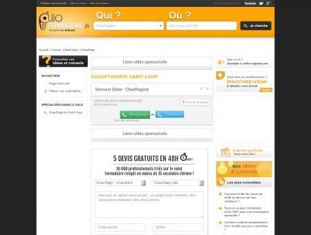Chauffagiste Saint-loup 23130