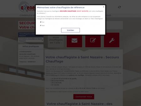 SECOURS CHAUFFAGE - Chauffagiste à Saint...