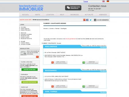 PLOMBIER / CHAUFFAGISTE Gironde annuaire...
