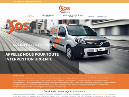 SOS EXPRESS dépannage urgence plomberie...