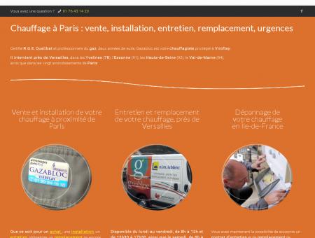 Chauffage Paris : vente, installation, entretien,...