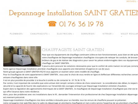 Chauffagiste SAINT GRATIEN | 01 76 36 19 78