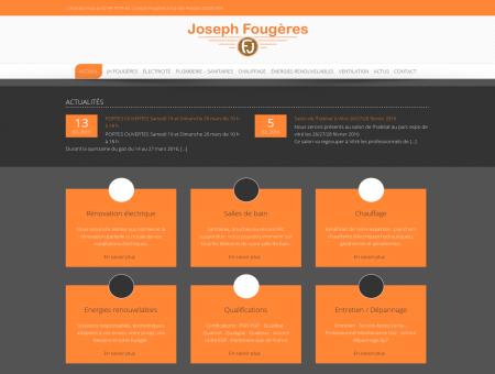 Joseph Fougères - Electricité Plomberie...