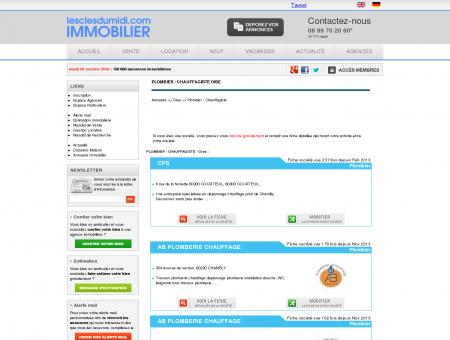 PLOMBIER / CHAUFFAGISTE Oise annuaire...