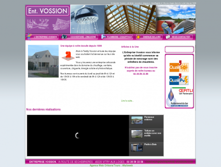 Entreprise Vossion