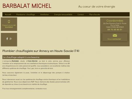 Plombier, Chauffagiste  Annecy | Barbalat...