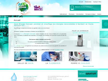 Aqua Énergie Concept, plombier et chauffage...