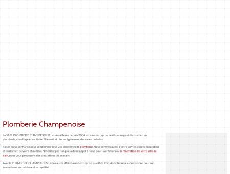 Plombier Reims - SARL PLOMBERIE...