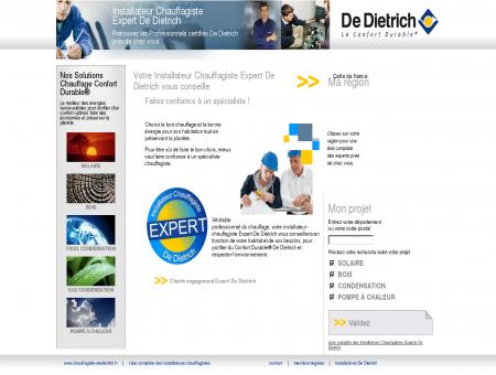 Installateur Chauffagiste Expert De Dietrich