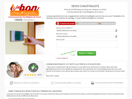 Chauffagiste Noisiel | lebonchauffagiste.pro