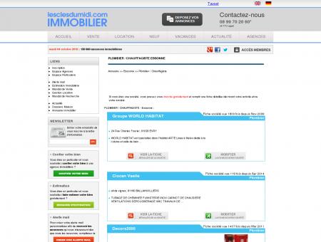 PLOMBIER / CHAUFFAGISTE Essonne annuaire...