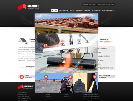 Plombier, toiturier, entreprise de toiture Mons,...