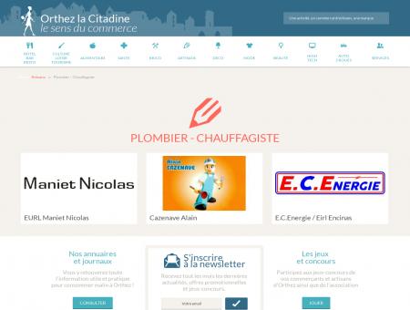 Plombier - chauffagiste | Orthez la Citadine