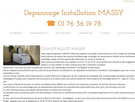 Chauffagiste MASSY | 01 76 36 19 78