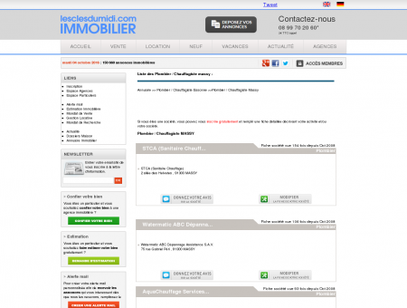 Plombier / Chauffagiste Massy Essonne 91 -...