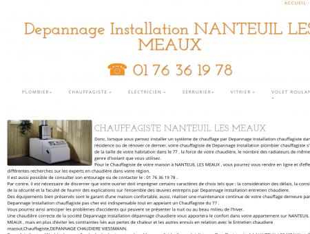 Chauffagiste NANTEUIL LES MEAUX | 01 76 36...