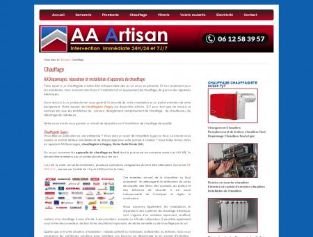 Chauffage | AA Artisan dépannages en Ile de...