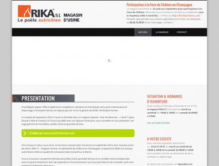 RIKA 51 - Le Poele autrichien d'usine