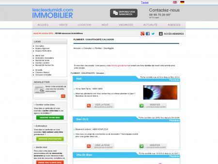 PLOMBIER / CHAUFFAGISTE Calvados annuaire...