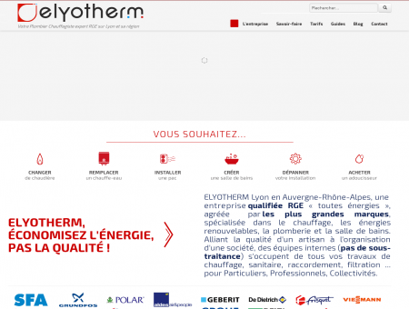 Plombier Chauffagiste Lyon | Expert RGE...