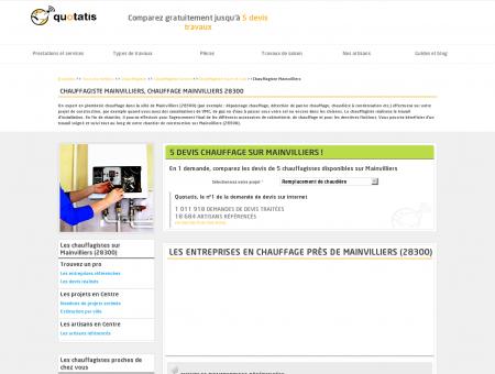 Chauffagiste Mainvilliers - 5 devis...