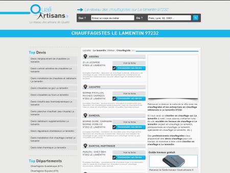 Chauffagiste Le lamentin 97232