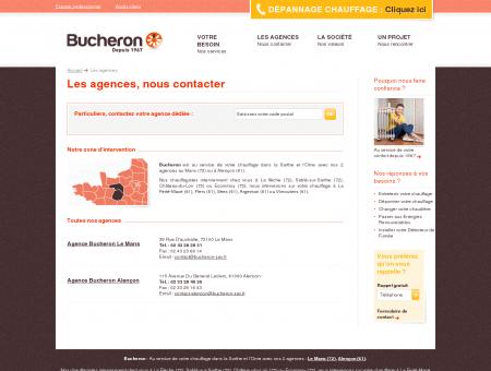 Vos agences Bucheron, plombier-chauffagiste...