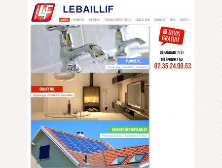 Entreprise LEBAILLIF - Plombier, chauffagiste,...