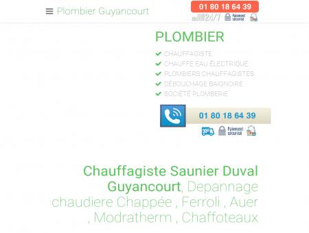 Plombier Guyancourt - [ 01 80 18 64 39 ]...