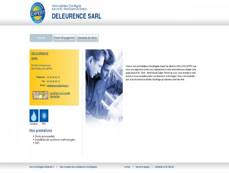 DELEURENCE SARL | Installateur chauffagiste...
