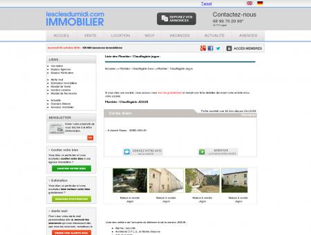 Plombier / Chauffagiste Jegun Gers 32 - Les...