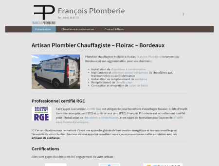 François Plomberie