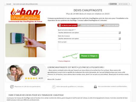 Chauffagiste Chaville | lebonchauffagiste.pro