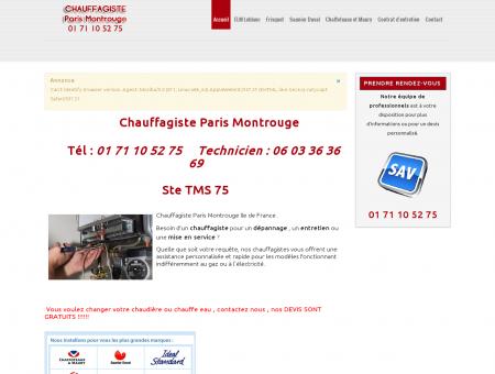 Chauffagiste Tms 75 Tel: 01 71 10 52 75 -...