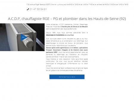 Chauffagiste agréé ELM Leblanc Chaville