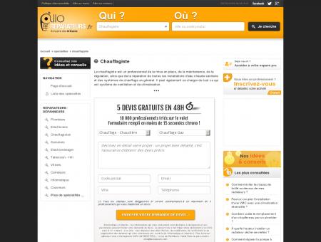 Chauffagiste - Réparation - Annuaire des...