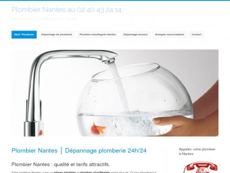 Plombier Nantes  Dépannage plomberie 7/7 -...