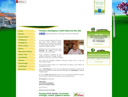 Plombier chauffagiste à Saint-Hilaire-de-Riez (85)