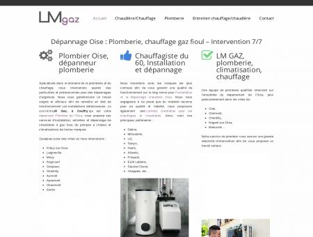LM GAZ : Plombier Chauffagiste -