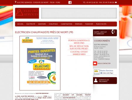 Electricien chauffagiste près de Niort (79)