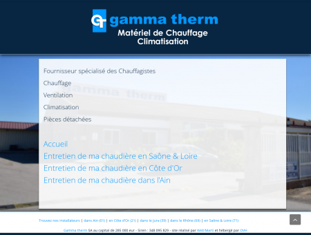 gammatherm - Grossiste chauffagiste, pièces...