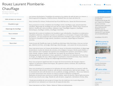 Plombier, chauffagiste à Montrouge, Hauts-de...
