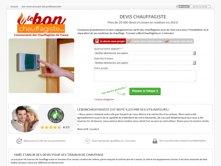 Chauffagiste Behren | lebonchauffagiste.pro