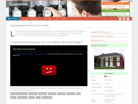 Chauffagiste Bazoches-Sur-Guyonne :...