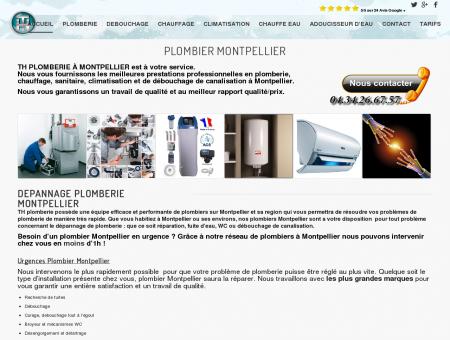 Plombier Montpellier - dépannage plomberie...