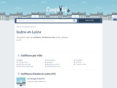 COIFFEURS 37 - SALONS DE COIFFURE...