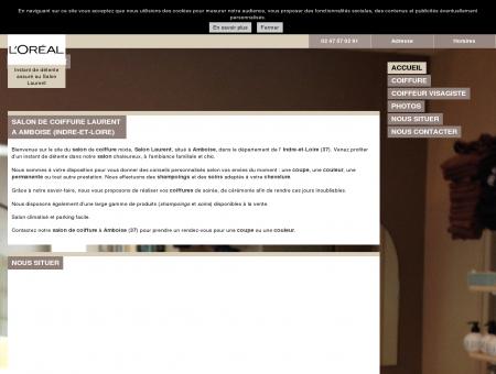 Coiffure - Salon Laurent à Amboise (37)